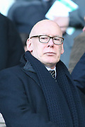 Derby County owner Mel Morris during the EFL Sky Bet Championship match between Derby County and Blackburn Rovers at the Pride Park, Derby, England on 8 March 2020.
