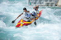 Lukas Prinda and Jan Havlicek (CZE), Mens C2 Class, Lee Valley White Water Centre, Waltham Abbey, England, Photo by: Peter Llewe