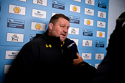 Wasps Director of Rugby Dai Young after the final whistle of the match - Mandatory by-line: Ryan Hiscott/JMP - 30/11/2019 - RUGBY - Sandy Park - Exeter, England - Exeter Chiefs v Wasps - Gallagher Premiership Rugby