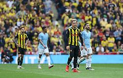 Gerard Deulofeu of Watford looks dejected after Manchester City score to make it 2-0 - Mandatory by-line: Arron Gent/JMP - 18/05/2019 - FOOTBALL - Wembley Stadium - London, England - Manchester City v Watford - Emirates FA Cup Final