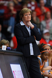 Dec 20, 2011; Stanford CA, USA; Tennessee Lady Volunteers head coach Pat Summitt on the sidelines against the Stanford Cardinal during the second half at Maples Pavilion.  Stanford defeated Tennessee 97-80. Mandatory Credit: Jason O. Watson-US PRESSWIRE