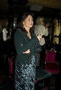 CHRISTINA ODONE, Launch of Crosley Bespoke Diamond Studs. Annabels. London. 15 November 2007. -DO NOT ARCHIVE-© Copyright Photograph by Dafydd Jones. 248 Clapham Rd. London SW9 0PZ. Tel 0207 820 0771. www.dafjones.com.