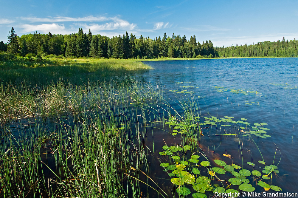 Grayling Lake <br /> Whiteshell Provincial Park<br /> Manitoba<br /> Canada