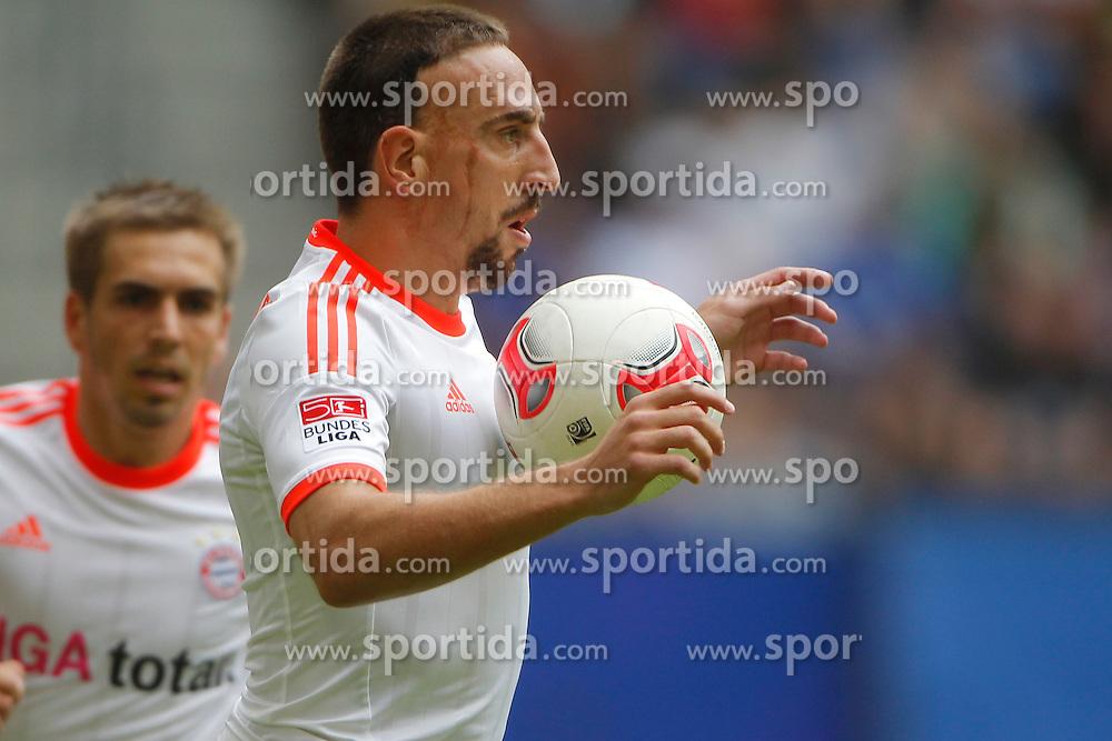 Football - soccer: LIGA total! Cup 2012, FC Bayern Muenchen.Franck Ribery (FC Bayern Muenchen, #7) *** Local Caption *** © pixathlon