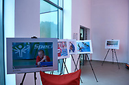 Poland, Wisla Malinka - 2018 November 18: Special Olympics Photo Exhibition expose during FIS Ski Jumping World Cup 2018-2019 at jumping hill of Adam Malysz on November 18, 2018 in Wisla Malinka, Poland.<br /> <br /> Mandatory credit:<br /> Photo by © Adam Nurkiewicz<br /> <br /> Adam Nurkiewicz declares that he has no rights to the image of people at the photographs of his authorship.<br /> <br /> Picture also available in RAW (NEF) or TIFF format on special request.<br /> <br /> Any editorial, commercial or promotional use requires written permission from the author of image.