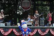 Maybelle's Lovers play during 4th of July festivities in the Grove in Oxford, Miss. on Thursday, July 4, 2013.
