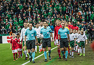 FOOTBALL: The teams arrive for the World Cup 2018 UEFA Play-off match, first leg, between Denmark and the Republic of Ireland at Parken Stadium on November 11, 2017 in Copenhagen, Denmark. Photo by: Claus Birch / ClausBirch.dk.