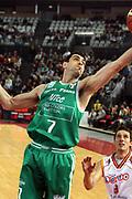 DESCRIZIONE : Roma Lega A1 2006-07 Lottomatica Virtus Roma Benetton Treviso <br /> GIOCATORE : Soragna <br /> SQUADRA : Benetton Treviso <br /> EVENTO : Campionato Lega A1 2006-2007 <br /> GARA : Lottomatica Virtus Roma Benetton Treviso <br /> DATA : 26/11/2006 <br /> CATEGORIA : Rimbalzo <br /> SPORT : Pallacanestro <br /> AUTORE : Agenzia Ciamillo-Castoria/G.Ciamillo
