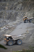 Oceana Gold mining operations in Didipio, Nueva Vizcaya, Philippines.