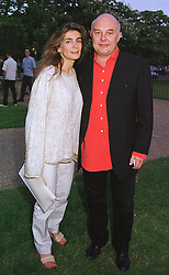 MR & MRS ROLF SACHS he is the son of German multi millionaire Gunther Sachs, at a party in London on 7th July 1999.MUC 135