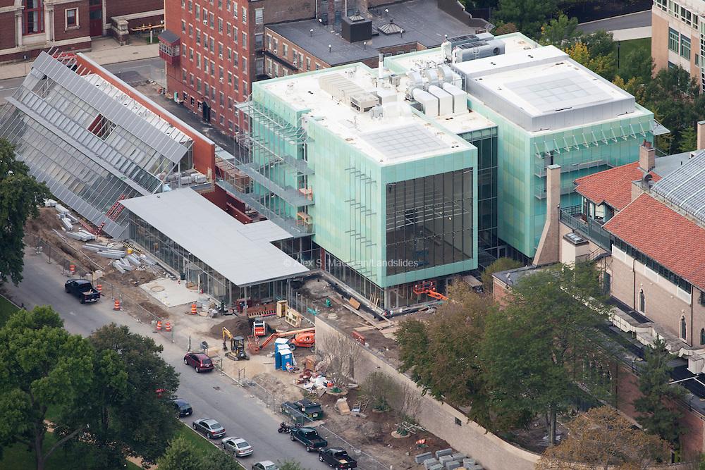 Gardner Museum during construction in September 2011
