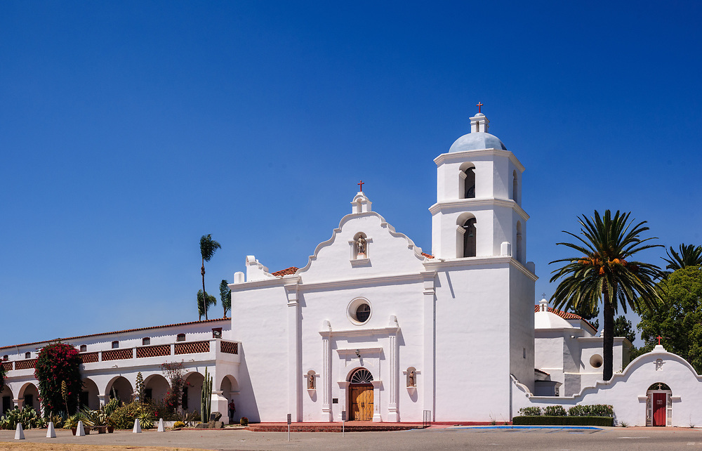 Oceanside, California, Mission San Luis Rey de Francia, also known as San Luis Rey Mission Church, King of the Missions, Largest of the 21 California Missions