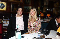LORD FREDERICK WINDSOR and his sister LADY GABRIELLA WINDSOR at a private dinner and presentation of Issa's Autumn-Winter 2005-2006 collection held at Annabel's, 44 Berkeley Square, London on 15th March 2005.<br /><br />NON EXCLUSIVE - WORLD RIGHTS