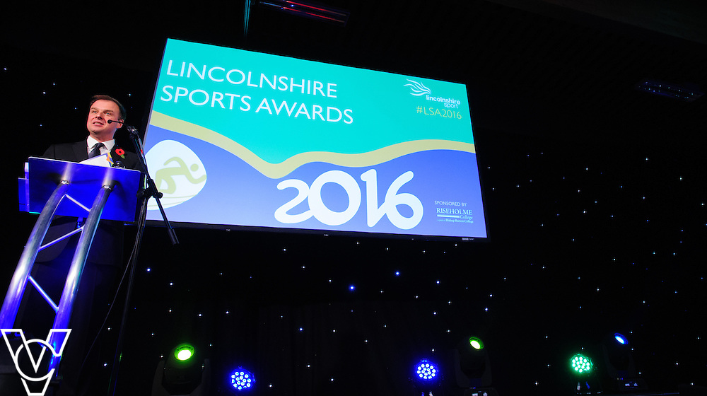 Lincolnshire Sport Awards 2016:<br /> <br /> Lincolnshire Sport Awards 2016 host Conor McNamara<br /> <br /> The 2016 Lincolnshire Sport Awards, organised by Lincolnshire Sport, and held at the Showground, Lincoln.<br /> <br /> Picture: Chris Vaughan Photography for Lincolnshire Sport<br /> Date: November 3, 2016