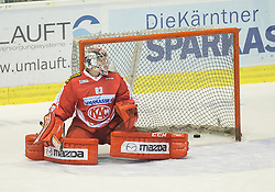 27.09.2015, Stadthalle, Klagenfurt, AUT, EBEL, EC KAC vs HCB Suedtirol, im Bild Pekka Tuokkola (EC KAC, #83) // during the Erste Bank Eishockey League match betweeen EC KAC and HCB Suedtirol at the City Hall in Klagenfurt, Austria on 2015/09/27. EXPA Pictures © 2015, PhotoCredit: EXPA/ Gert Steinthaler
