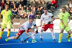 England's David Ames. England v China - Hockey World League Semi Final, Lee Valley Hockey and Tennis Centre, London, United Kingdom on 15 June 2017. Photo: Simon Parker