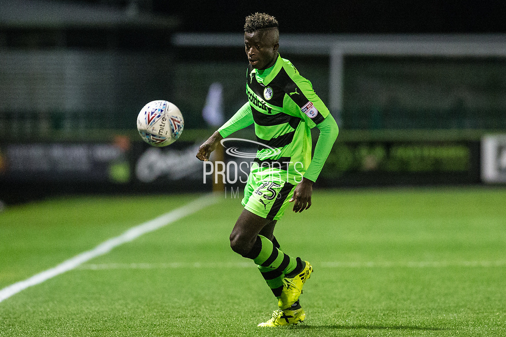 Forest Green Rovers Toni Gomes(25) during the EFL Sky Bet League 2 match between Forest Green Rovers and Swindon Town at the New Lawn, Forest Green, United Kingdom on 22 September 2017. Photo by Shane Healey.