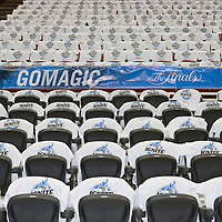 BASKET BALL - PLAYOFFS NBA 2008/2009 - LOS ANGELES LAKERS V ORLANDO MAGIC - GAME 3 -  ORLANDO (USA) - 09/06/2009 - .LOGO NBA FINALS 2009