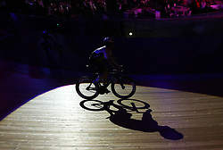 Mark Cavendish during the Men's Team Elimination race during day five of the Six Day Series at Lee Valley Velopark, London. PRESS ASSOCIATION Photo. Picture date: Saturday October 27, 2018. Photo credit should read: Steven Paston/PA Wire. RESTRICTIONS: Editorial use only, no commercial use without prior permission
