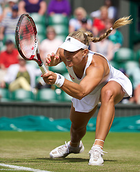LONDON, ENGLAND - Thursday, June 26, 2014: Angelique Kerber (GER) during the Ladies' Singles 2nd Round match on day four of the Wimbledon Lawn Tennis Championships at the All England Lawn Tennis and Croquet Club. (Pic by David Rawcliffe/Propaganda)