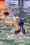 3 Arianna GARIBOTTI ITA<br /> ITA v HUN Italy (white cap) versus Hungary (blue cap)<br /> FINA Women Water Polo World League qualification round<br /> Avezzano (AQ) Italy ITA Piscina Comunale Avezzano <br /> Centro Italia Nuoto  Unipol<br /> April 18th, 2017 <br /> Photo &copy;G.Scala/Deepbluemedia/Insidefoto