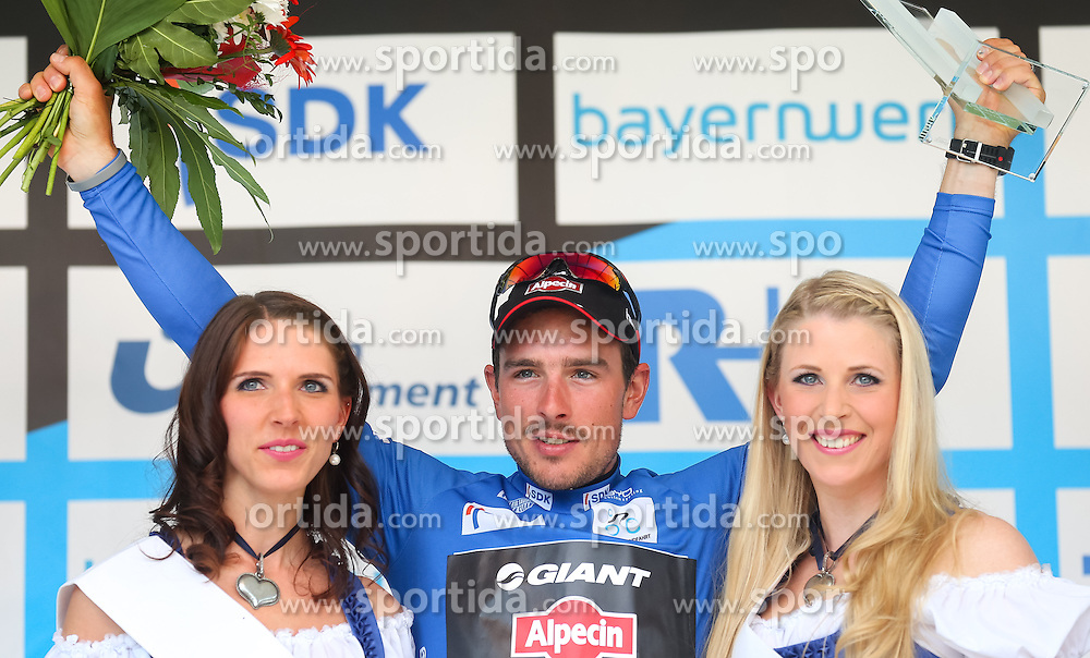 Radsport: 36. Bayern Rundfahrt 2015 / 5. Etappe, Hassfurt - Nuernberg, 17.05.2015<br /> Cycling: 36th Tour of Bavaria 2015 / Stage 5, <br /> Hassfurt - Nuernberg, 17.05.2015<br /> Siegerehrung - podium, # 51 Degenkolb, John (GER, TEAM GIANT - ALPECIN)