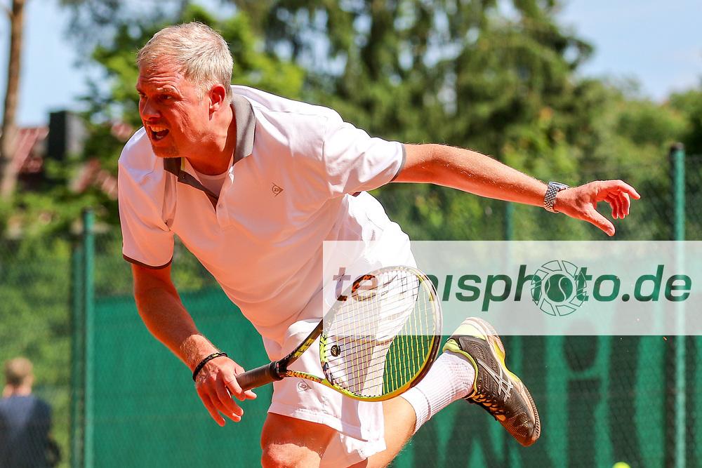 Martin Melchior (BTTC Grün-Weiß), 16. Grün-Weiß Nikolassee Seniorenturnier, Berlin, 21.05.2018, Foto: Claudio Gärtner