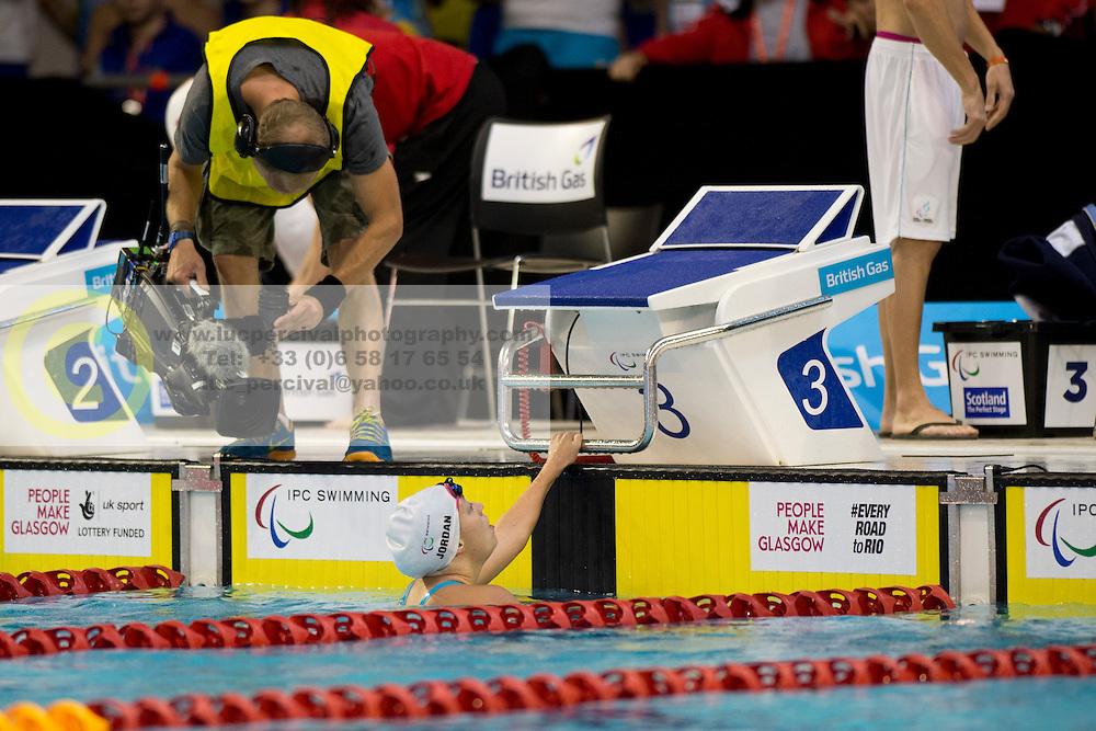 USA, JORDAN Cortney (S7)  at 2015 IPC Swimming World Championships -  Women's 100m Freestyle S7