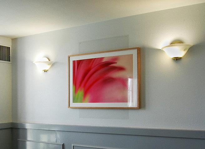 24x36 wooden framed image