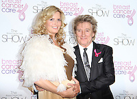 Rod Stewart; Penny Lancaster Stewart Breast Cancer Care Fashion Show, Grosvenor House Hotel, Park Lane, London, UK, 06 October 2010: For piQtured Sales contact: Ian@Piqtured.com +44(0)791 626 2580 (picture by Richard Goldschmidt)