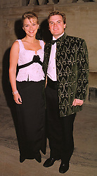 LORD & LADY DALMENY at a dinner in London on 22nd September 1998.<br /> MKE 21