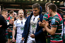 Nick Schonert of Worcester Warriors - Mandatory by-line: Robbie Stephenson/JMP - 29/02/2020 - RUGBY - Welford Road Stadium - Leicester, England - Leicester Tigers v Worcester Warriors - Gallagher Premiership Rugby