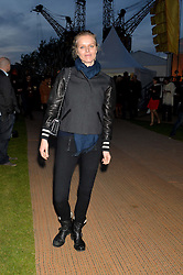EVA HERZIGOVA at the Battersea Power Station Annual Party at Battersea Power Station, 188 Kirtling Street, London SW8 on 30th April 2014.