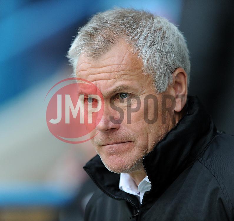 Gillingham Manger, Peter Taylor - Photo mandatory by-line: Dougie Allward/JMP - Mobile: 07966 386802 - 08/11/2014 - SPORT - Football - Gillingham - Priestfield Stadium - Gillingham v Bristol City - FA Cup - Round One