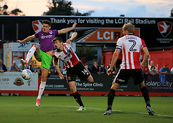 Callum O'Dowda of Bristol City gets the better of Daniel O'Shaughnessy of Cheltenham Town - Mandatory by-line: Paul Roberts/JMP - 25/07/2017 - FOOTBALL - LCI Rail Stadium - Cheltenham, England - Cheltenham Town v Bristol City - Pre-season friendly