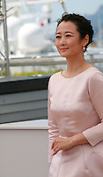 Actress Zhao Tao at the Mountains May Depart film photo call at the 68th Cannes Film Festival Tuesday May 20th 2015, Cannes, France.