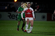 Arsenal forward Amelia Hazard (29) during the FA Women's Super League match between Arsenal Women and Yeovil Town Women at Meadow Park, Borehamwood, United Kingdom on 20 February 2019.