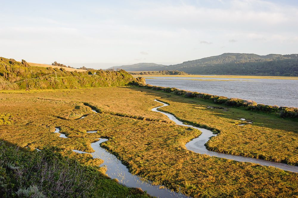 State Route One, CA, Tomales Bay