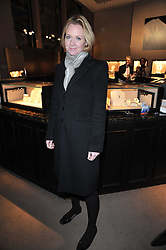 KATE REARDON at a party to celebrate the launch of Simon Sebag-Montefiore's new book - 'Jerusalem: The Biography' held at Asprey, 167 New Bond Street, London on 26th January 2011.