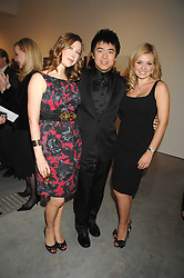 Left to right, singer HAYLEY WESTENRA, pianist LANG LANG and singer KATHERINE JENKINS at the Montblanc de la Culture Arts Patronage Award 2008 presented to Louise Blouin MacBain at the Louise Blouin MacBain Institute, 3 Olaf Street, London W11 on 16th April 2008.<br /><br />NON EXCLUSIVE - WORLD RIGHTS