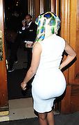 21.JANUARY.2011. LONDON<br /> <br /> US RAPPER NICKI MINAJ ARRIVING BACK AT HER NEW HOTEL THE LANDAMRK AFTER FILMING THE T4 SHOW. SHE HAD EARLIER BEEN CHUCKED OUT THE DORCHESTER HOTEL FOR HAVING TO MANY FANS OUTSIDE.<br /> <br /> BYLINE: EDBIMAGEARCHIVE.COM<br /> <br /> *THIS IMAGE IS STRICTLY FOR UK NEWSPAPERS AND MAGAZINES ONLY*<br /> *FOR WORLD WIDE SALES AND WEB USE PLEASE CONTACT EDBIMAGEARCHIVE - 0208 954 5968*