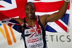 Silver medallist Mark Lewis-Francis of Great Britain after the Mens 100m Final during day two of the 20th European Athletics Championships at the Olympic Stadium on July 28, 2010 in Barcelona, Spain.(Photo by Vid Ponikvar / Sportida)