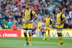 Darren Barry of Worcester Warriors looks on - Rogan Thomson/JMP - 03/09/2016 - RUGBY UNION - Twickenham Stadium - London, England - Saracens v Worcester Warriors - Aviva Premiership London Double Header.