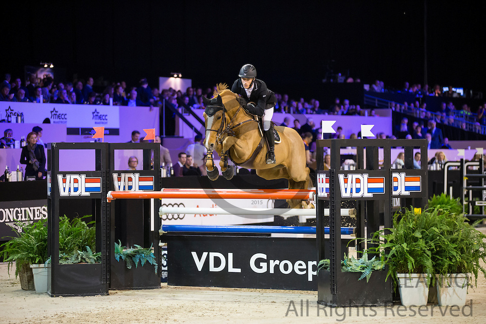 William Whitaker - Fento Chin S<br /> Jumping Indoor Maastricht 2016<br /> &copy; DigiShots