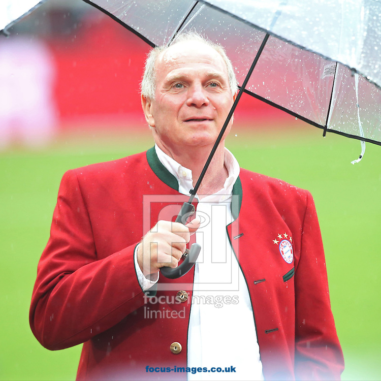 Uli Hoeness of Bayern Munich during the Bundesliga match at Allianz Arena, Munich<br /> Picture by EXPA Pictures/Focus Images Ltd 07814482222<br /> 14/05/2016<br /> ***UK &amp; IRELAND ONLY***<br /> EXPA-EIB-160515-0131.jpg