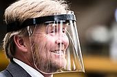 Werkbezoek van Koning Willem Alexander aan DAF