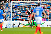 AFC Bournemouth goalkeeper Adam Federici makes a save during the The FA Cup fourth round match between Portsmouth and Bournemouth at Fratton Park, Portsmouth, England on 30 January 2016. Photo by Graham Hunt.