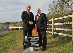At the official opening of the N59 Kilbride section on the Westport to Mulranny road.<br /> Pic Conor McKeown