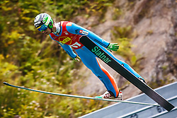 Meznar Mitja during national competition in Ski Jumping, 8th of October, 2016, Kranj,  Slovenia. Photo by Grega Valancic / Sportida