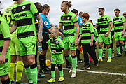 Matchday mascot during the EFL Sky Bet League 2 match between Forest Green Rovers and Yeovil Town at the New Lawn, Forest Green, United Kingdom on 16 February 2019.